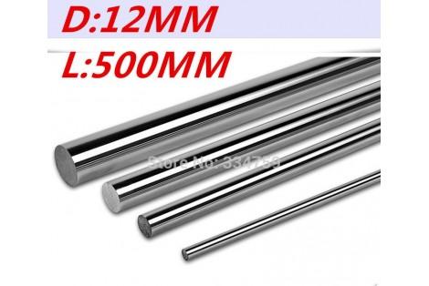 SFC12 Round Rod Shaft Diam - 12mm Len - 500mm