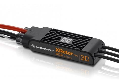 XRotor Pro 40A 3D Wire Leaded Dual Pack ESC ( 2 Unit )