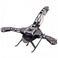 HJ-Y3 Carbon Fiber Tricopter Frame Three-Axis Multicopter Frame ( 21142 )