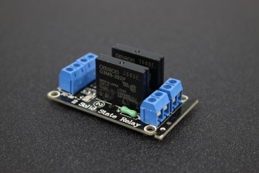 5V 2-Channel SSR G3MB-202P 240V 2A Solid State Relay Module