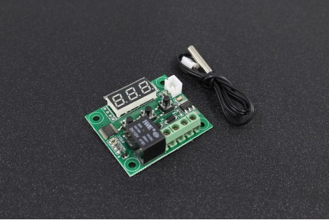 +12V Digital Thermostat Temperature Switch Control with Waterproof Sensor