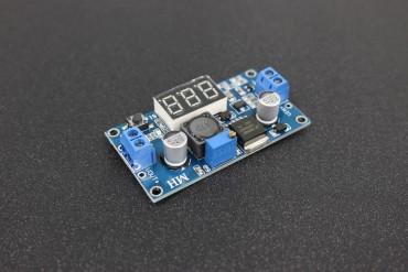 LM2596 DC 4.0~40 to 1.3-37V Adjustable Step-Down Power Module + LED Voltmeter TK0343