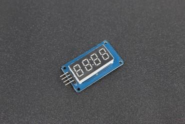 4 Bits TM1637 LED Digital Clock Tube Display Module