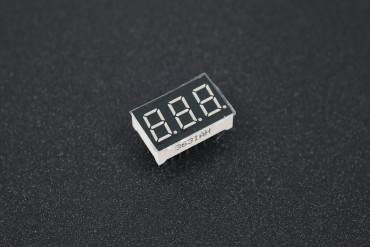 3-Digit 0.36Inch 7 Segment Red LED Common Cathode Display