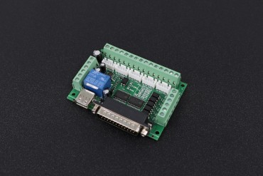 CNC Breakout Board With Optical Coupler For Stepper Motor Driver
