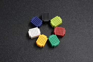 7 Color 25 Tie-Point Mini Solder-Less Prototype Bread Board