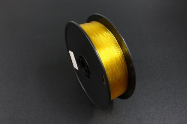 WANHAO Classis Filament ( PLA Translucent Yellow / Part No. 0202044 )