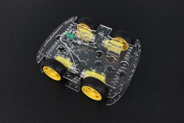 Four Wheel Car Frame with DC Motor