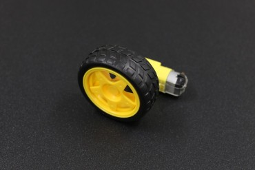 Smart Robot Car Wheel with Gear Motor