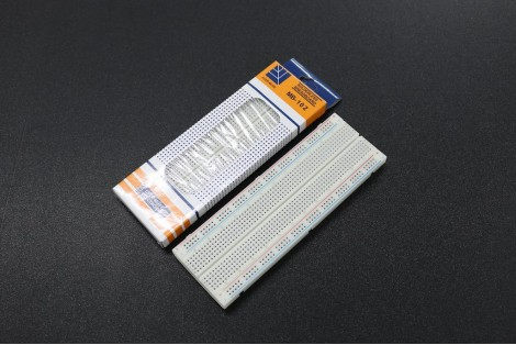MB-102 830-Point Solderless Bread Board With Color Bar