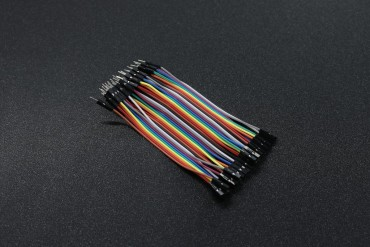2.54mm 10cm 40 Pin Male to Female Jumper Wire Dupont Cable