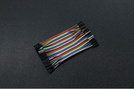 2.54mm 10cm 40 Pin Female to Female Jumper Wire Dupont Cable
