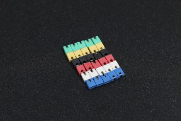6 Color 2.54mm Standard Circuit Board Jumper Cap