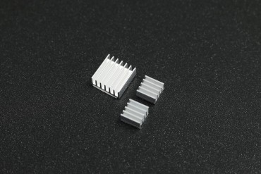 Raspberry Pi Pure Aluminum Heat Sink Set Kit