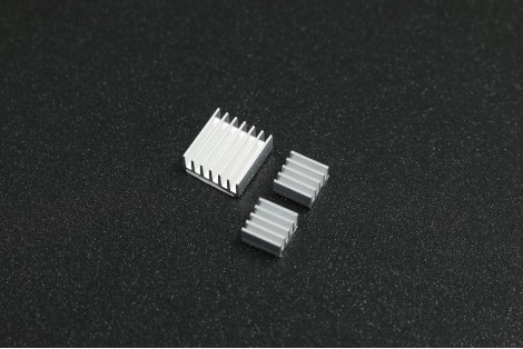 Raspberry Pi Pure Aluminum Heat Sink Set Kit