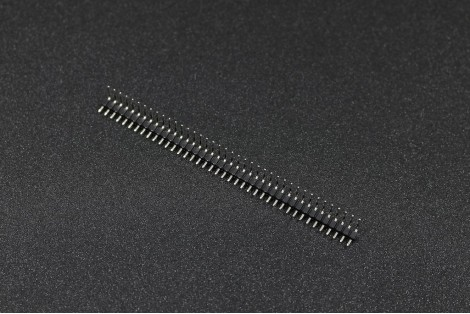 2.54mm Right Angle Single Row Male Pin Header Connector