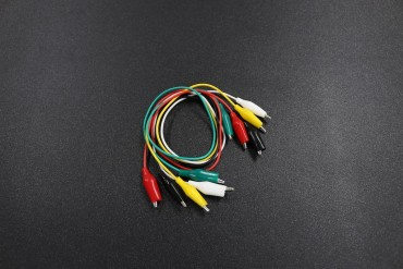 5 Color Test Lead Alligator Clips