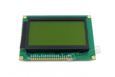 LCD12864-ST (3.3V Yellow Backlight)