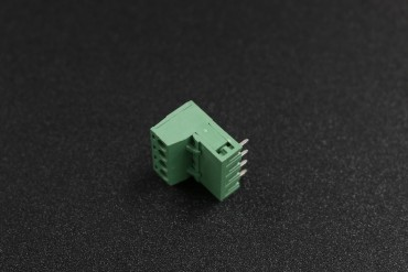 5.08mm 300V 10A 4-Pin Curve Plug In PCB Terminal Blocks