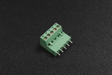 5.08mm 300V 10A 5-Pin Straight Plug In PCB Terminal Blocks