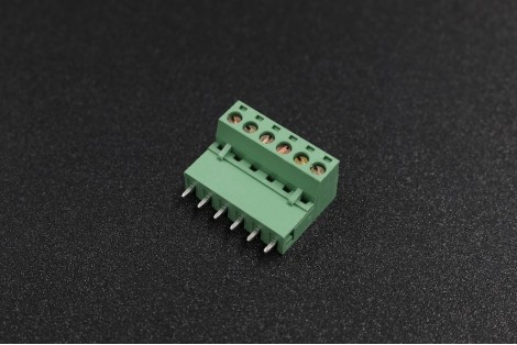 5.08mm 300V 10A 6-Pin Straight Plug In PCB Terminal Blocks