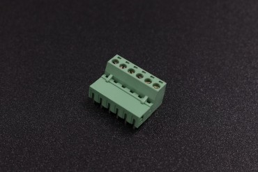 5.08mm 300V 10A 6-Pin Curve Plug In PCB Terminal Blocks