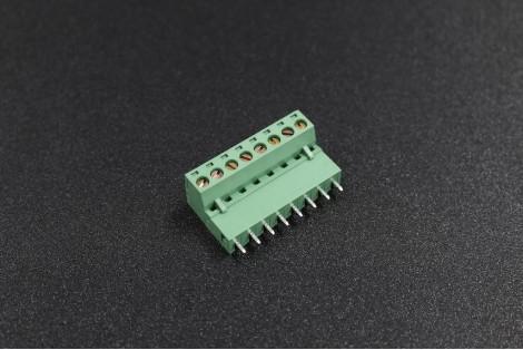 5.08mm 300V 10A 8-Pin Straight Plug In PCB Terminal Blocks