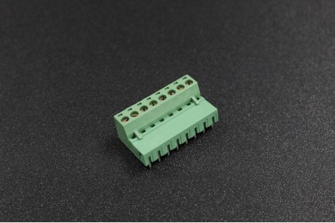 5.08mm 300V 10A 8-Pin Curve Plug In PCB Terminal Blocks