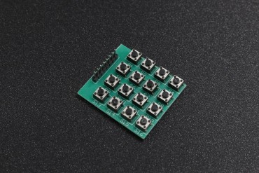 4 x 4 Membrane Keypad Tactile Switches