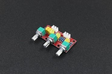 Assembled HIFI Amplifier Passive Tone Board ( Bass, Treble, Volume Control, Pre-amplifier )