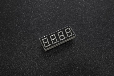 4-Digit 0.56Inch 7 segment LED Common Cathode ( Red Color )