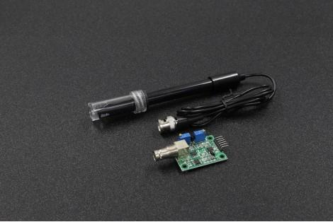 Liquid PH Value Detection Sensor Module with BNC Electrode Probe