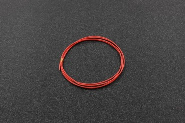 1 Meter 26AWG UL1007, 7/0.12TS ( Red )