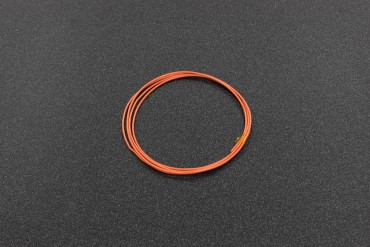 1 Meter 26AWG UL1007, 7/0.12TS ( Orange )