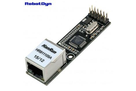 Ethernet Module - W5500, 3.3V/5V