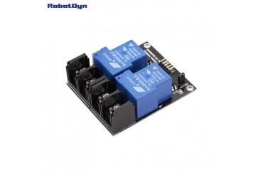 Relay Module 2 relay, 5V, 30A