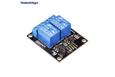 Relay Module 2 relays, 5V