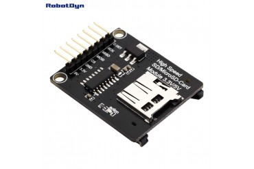 SD+MicroSD-card High Speed Module