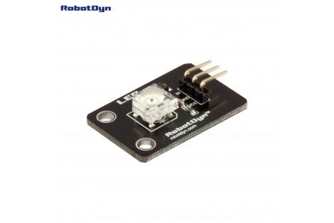 Super-bright Color LED (Piranha) Module (Blue)