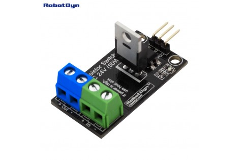 Transistor MOSFET DC Switch Relay, 5V Logic, DC 24V/30A