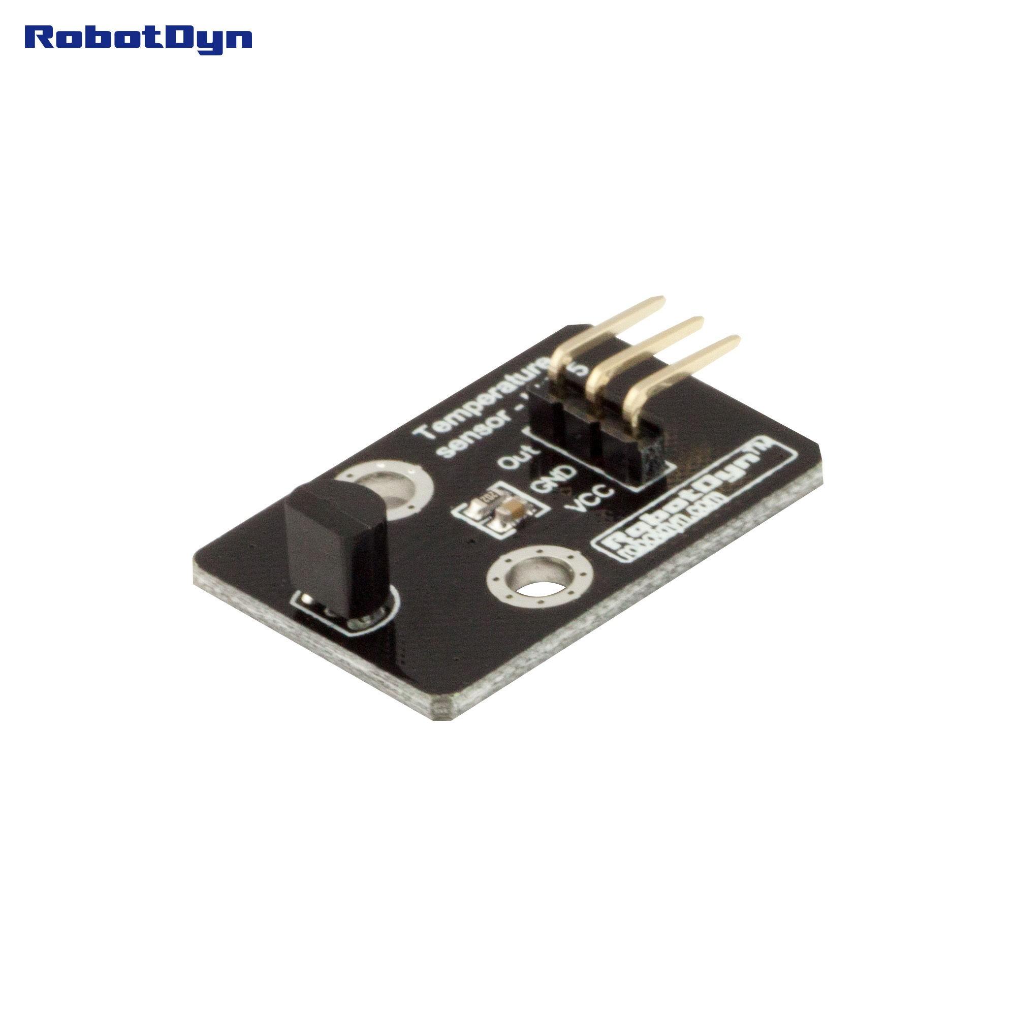 Temperature Sensor - LM35 - Green Electronics Store