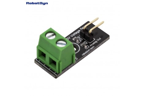 Simple DC Voltage Sensor, VDC 25V