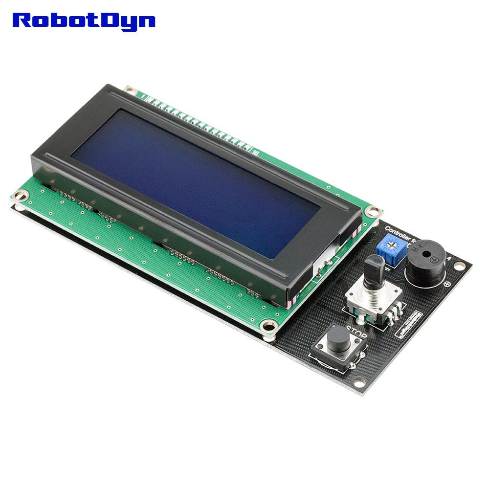 Controller For Ramps 14 Lcd 20x4 Assembled Green Electronics Store Ramps14