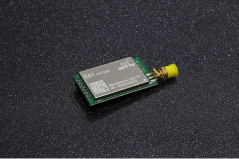 E61-433T30D ( 2.5km, UART, 425~450.5MHz, 21~30dBm, 1.2k~70kbps, SMA-K ) Wireless Module
