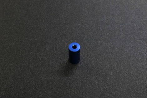 Fix Aluminum Alloy Motor Couplings ( OD 14mm, ID 5mm and 8mm, Blue Anodize )