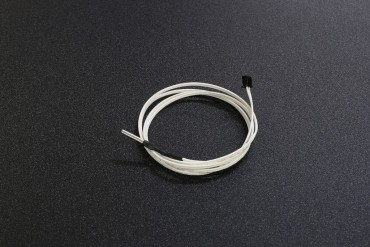 NTC 100K High Temperature Thermistor with Black Terminal ( Steel Cap, Cable 1m, XH-2.54, 3x15mm)