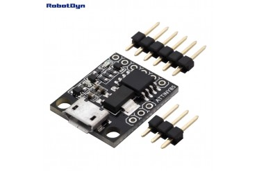 ATtiny85 MicroUSB, dev.board (Digispark compatible)