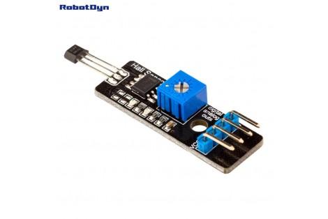 Hall (magnetic) Sensor with analog & digital outs