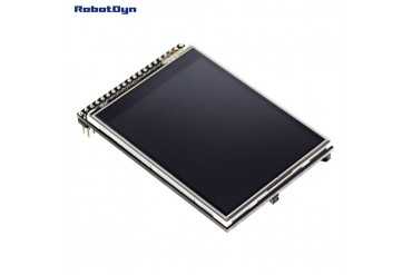 """TFT 2.8"""" LCD Touch Screen Module, 3.3V, with SD and MicroSD card"""