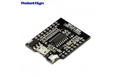 WIFI D1 Mini - USB-TTL CH340 Converter Shield